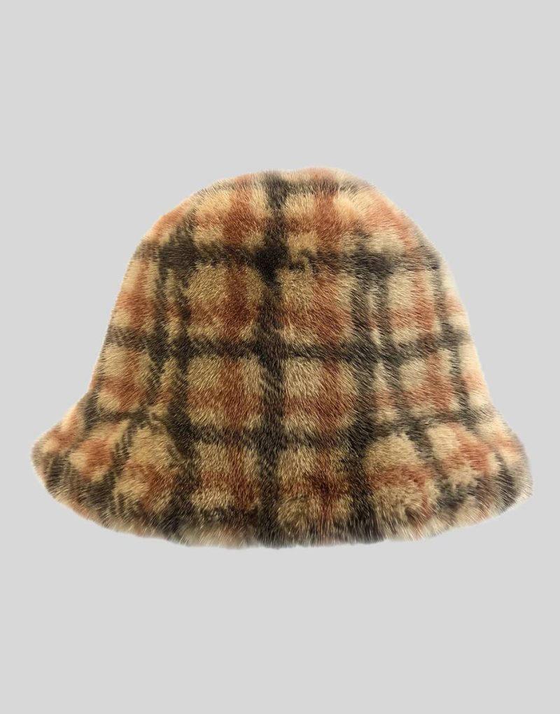 BUCKET MINK HAT